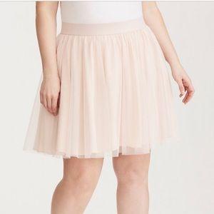 🔥Torrid *4* 🔥Blush Tulle Miniskirt